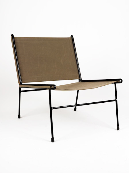 Delicieux ... Clement Meadmore: Canvas Sling Chair, C1955 | By Modernistdream