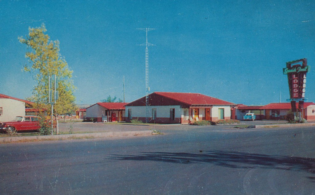 Spanish Trail Lodge - Fort Stockton, Texas