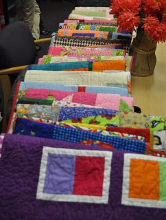 NICU quilts all laid out | by vickivictoria