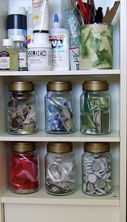 recycled coffee jars | by balanced.crafts