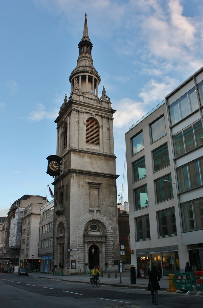 St Mary Le Bow Church On Cheapside Phil Parsons Flickr