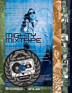Mighty Mixtape 1 - inside cover / disc | by nobodiesfromnowhere