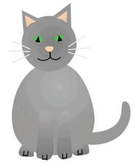 Cute Cartoon Cat Meme