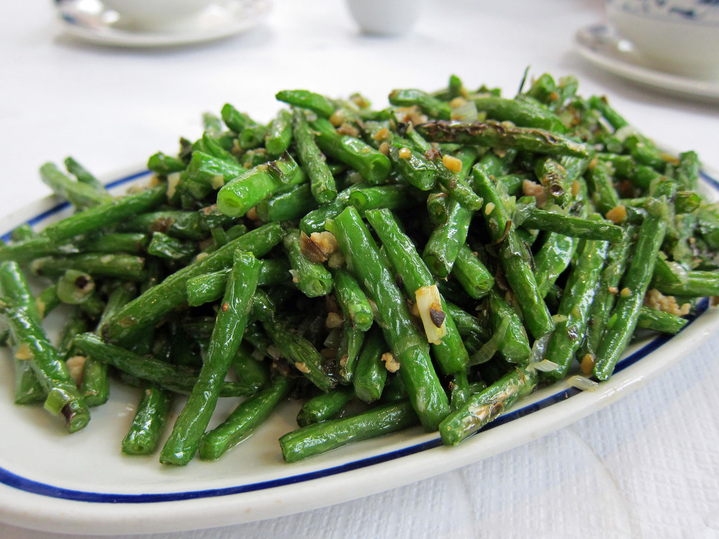 Dry Fried Green Beans | Lunch last weekend at Tian Fu in ...