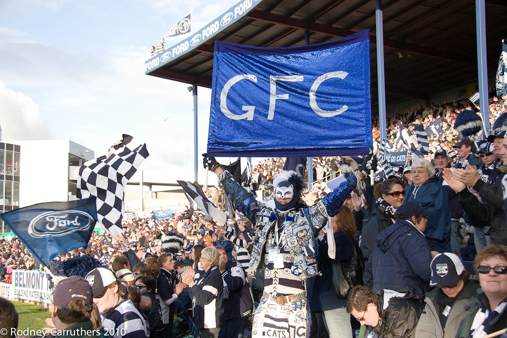 Geelong cheer squad