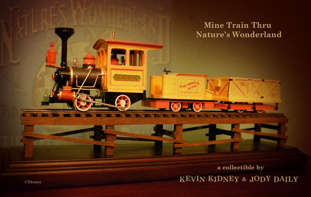 Disneyland Mine Train Thru Nature S Wonderland Replica