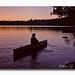 Boundary water's Sunset