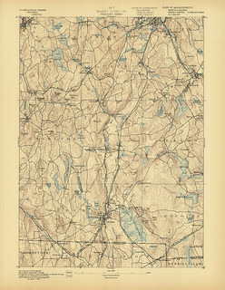 Webster Quadrangle 1887 - USGS Topographic Map 1:62,500 | by uconnlibrariesmagic