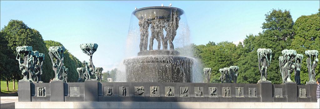 La fontaine de Gustav Vigeland
