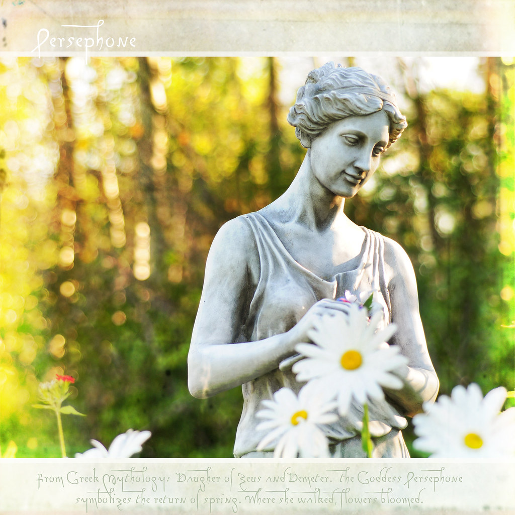 Persephone Persephone From Greek Mythology Daughter Of Z Flickr