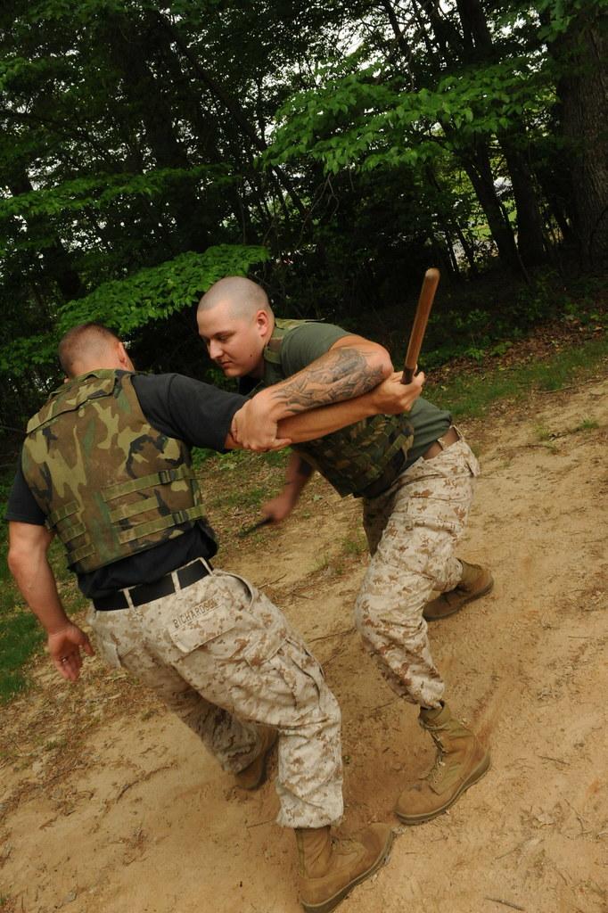 marine corps martial art