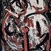 """Painting, compl. view,: """"The unwanted child within"""" sept. 2010"""