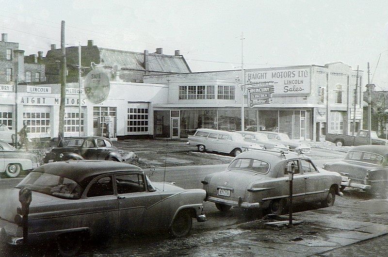 1958 Mercury Lincoln Meteor Dealership Ontario Canada