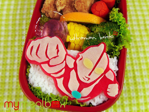 Ultraman bento | by mymealbox