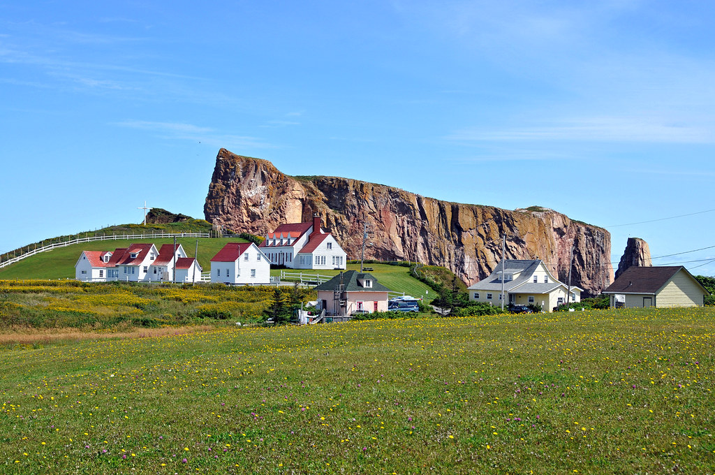 DGJ_8690 - Percé Rock in back | PLEASE, no multi ...