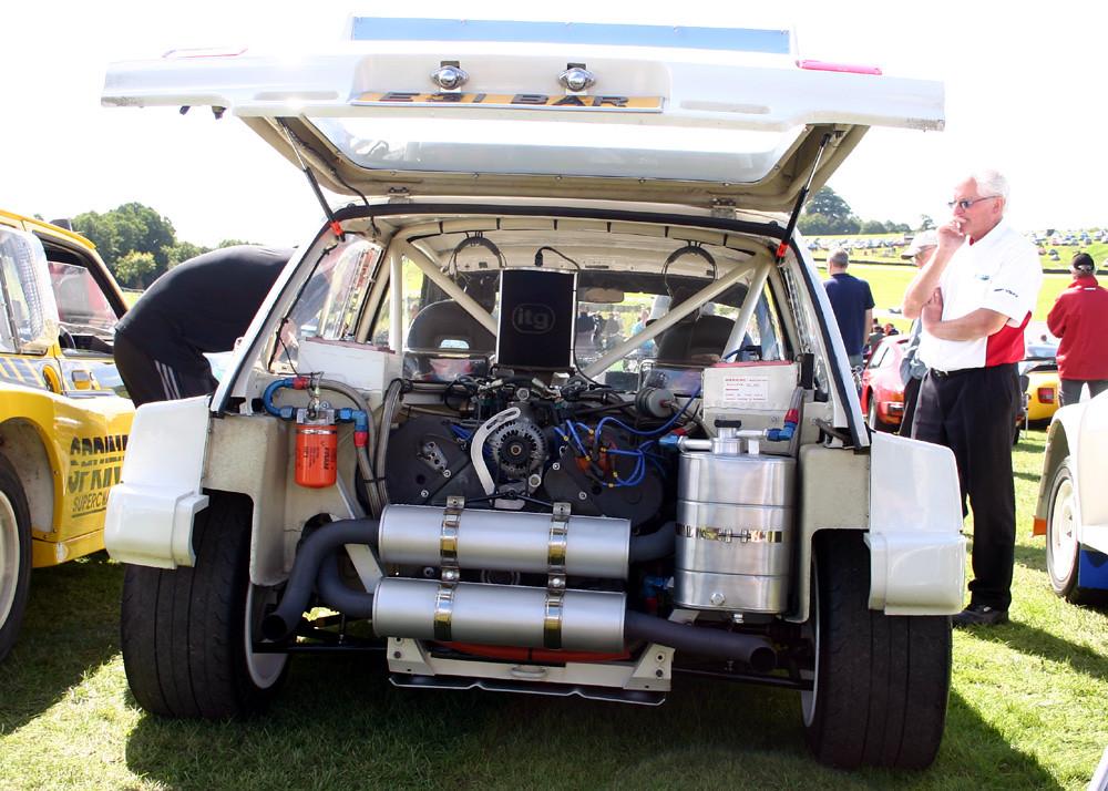 Vw Rally Car Parts