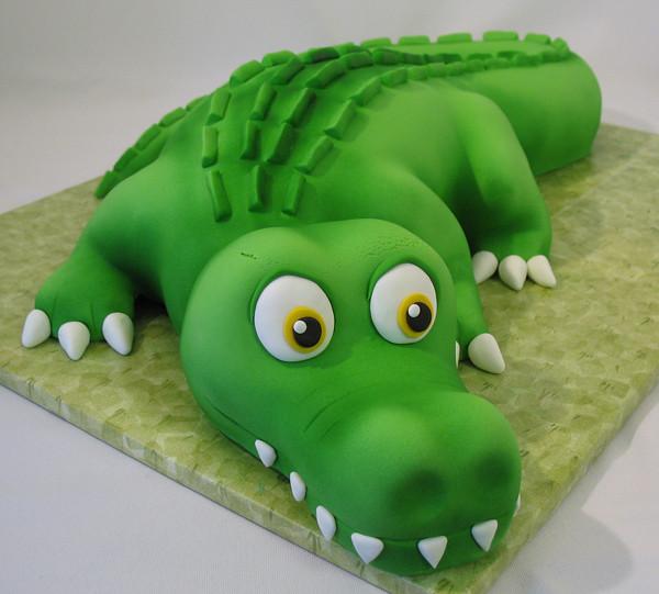 Gator Birthday Cake Images