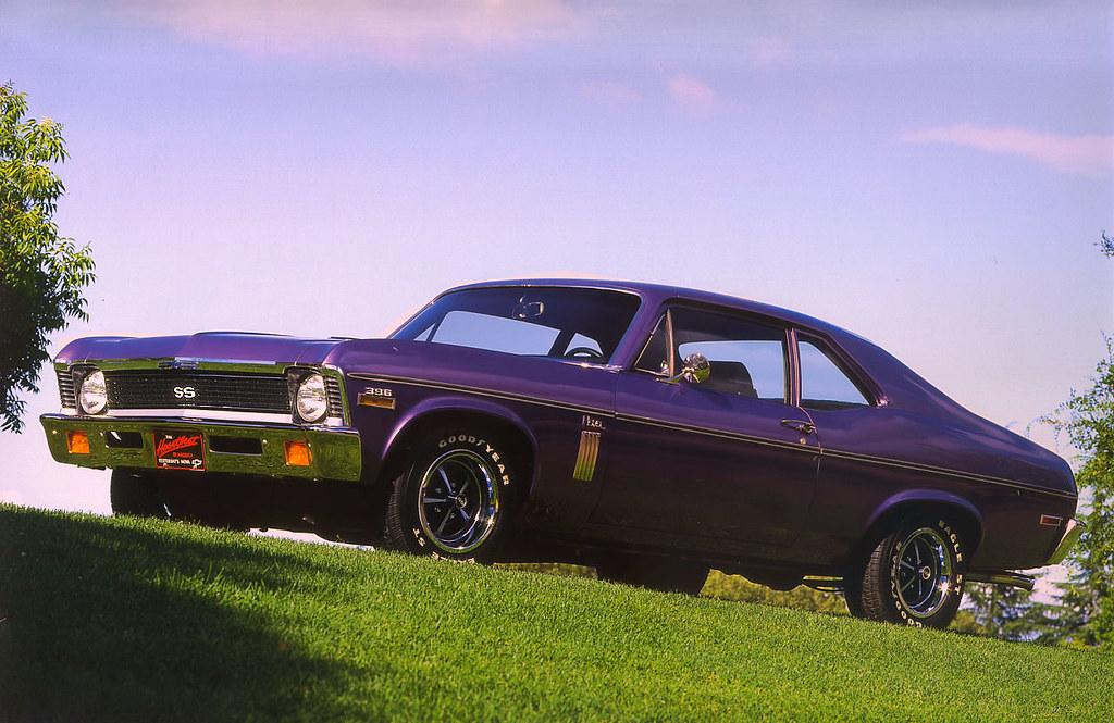 1970 Chevrolet Nova SS 396 - purple - fvl | Rex Gray | Flickr