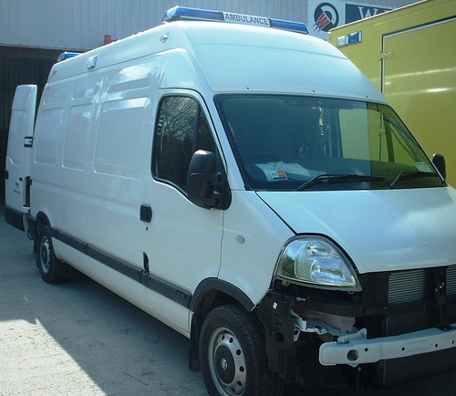 Van Conversion In Build As An Ambulance
