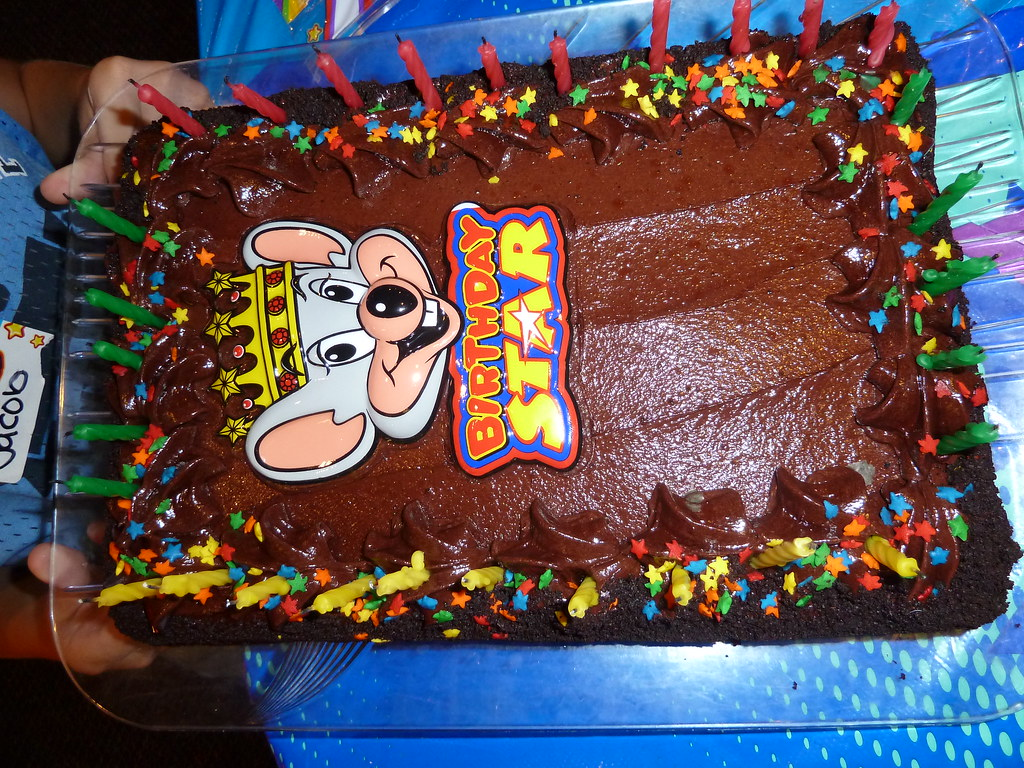 Jacobs Chuck E Cheese cake justdenise Flickr
