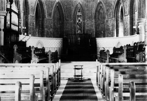 Interior view of St. James' Cathedral in Townsville, ca. 1902 | by State Library of Queensland, Australia