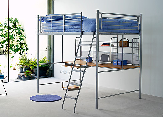 A Bunk Bed By Acmes White