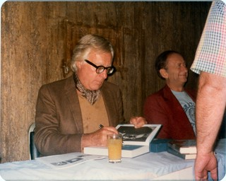 06 World Fantasy Con III 1977 Ray Bradbury Signing Next to Robert Bloch | by CthulhuWho1 (Will Hart)
