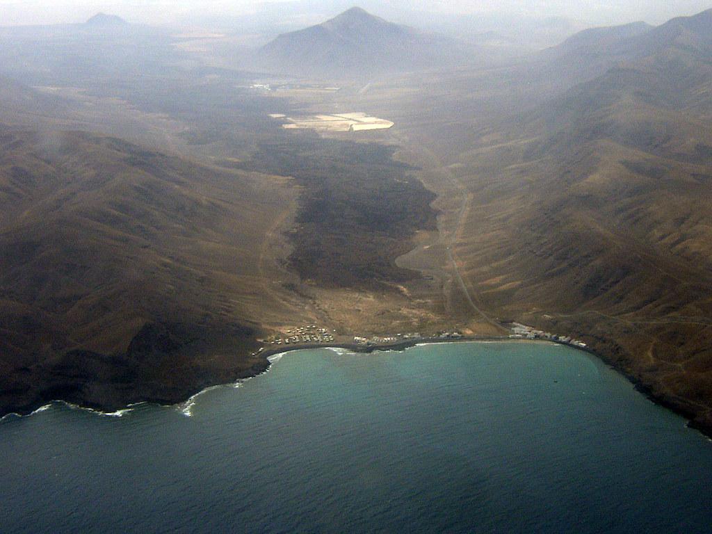 Colada Valle De Pozo Negro Fuerteventura Islas Canaria