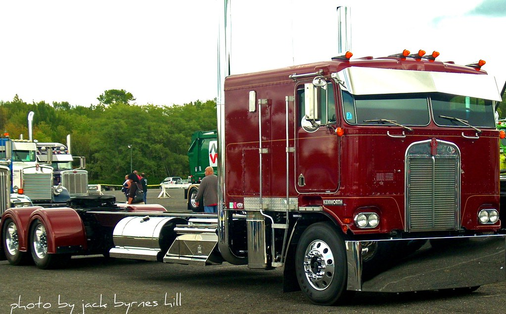 Kenworth COE Extended Chassis | Seen at the 2010 U.S ...