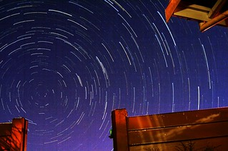 Windhoek Star Trail | by Namibnat