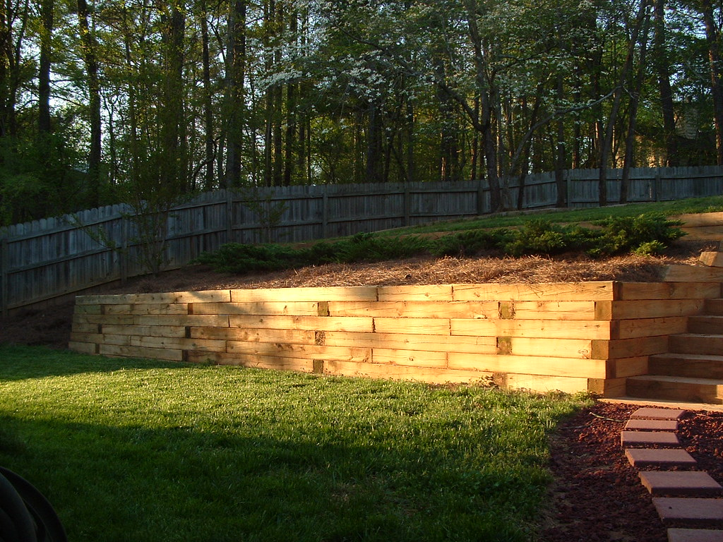 Dorable Retaining Wall Landscape Ideas Collection - The Wall Art ...