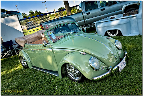 1959 Vw Beetle Convertible Photographed The 2010