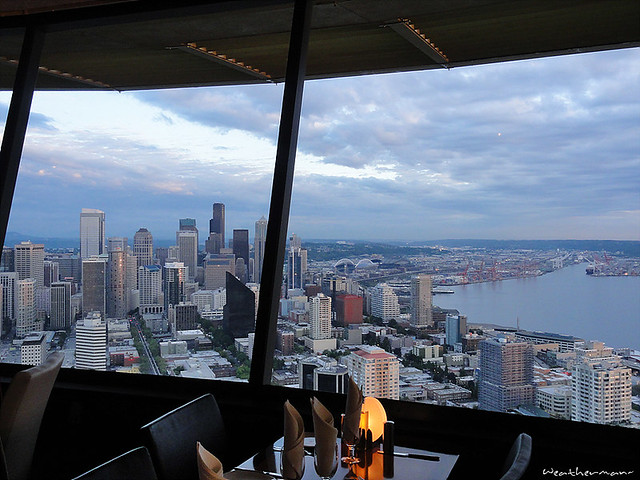 space needle restaurant flickr photo sharing