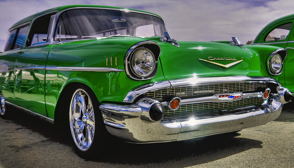 57 Chevy Nomad HDR inverted | George Thomas | Flickr