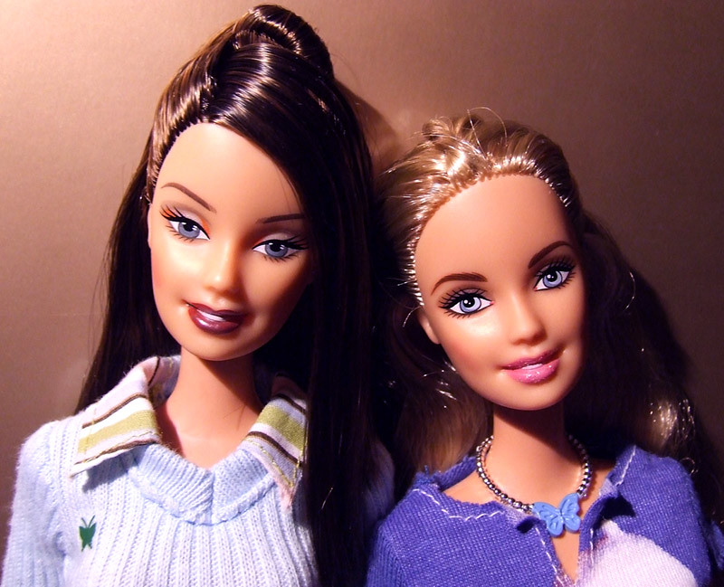 barbie and cindy