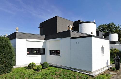 8154 moderne architektur im hamburger stadtteil farmsen be for Moderne architektur hamburg