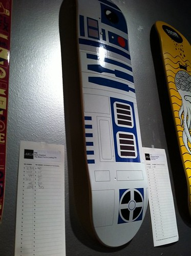 R2D2 Skateboard in the Flesh | by briandcrawford