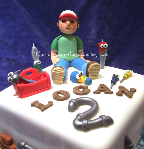 Handy Manny cake topper | by the-icing-on-the-cake. (Jo)