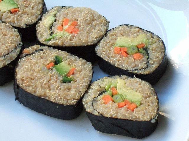 Quinoa sushi | Flickr - Photo Sharing!