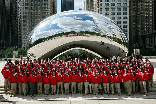 City Year Chicago Corps by Cloud Gate! by Chris McGuire | by cityyear