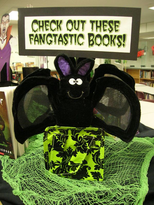 Check Out These Fangtastic Books Side Two Of One Of Our
