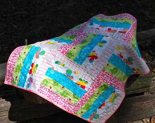 Baby girl quilt | by Sarah quilts!