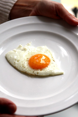 fried egg at the Tannery | by David Lebovitz