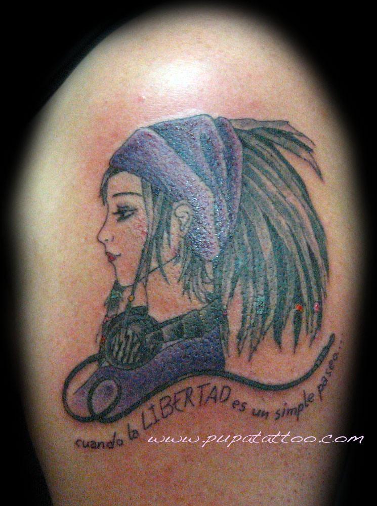 Tatuaje Hippie Pupa Tattoo Granada   Pupa Tattoo Art ...