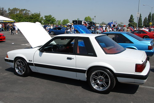 Ford Mustang Lx Foxbody Coupe With 10th Anniversary Svt Co