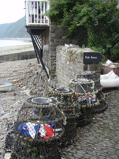 Fish street in clovelly sheep r us flickr for Fishing r us