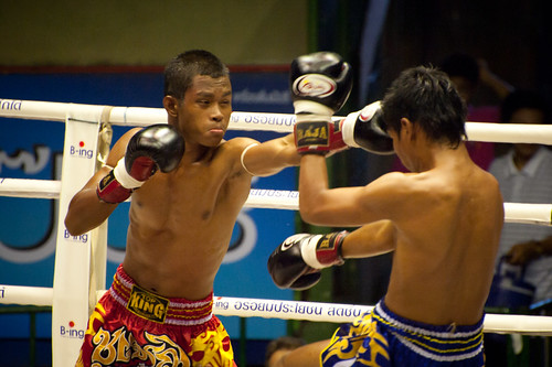 Muay Thai Boxing in Bangkok | by goingslowly
