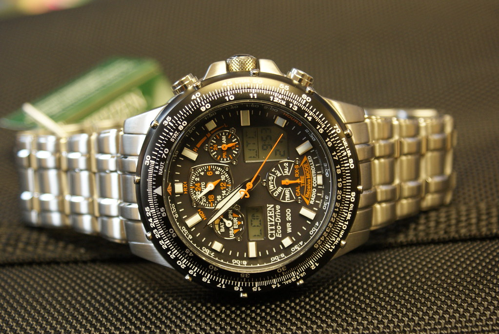Calendar Pages October : Citizen skyhawk a t eco drive perpetual calendar gents bra