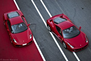 Ferrari F430 vs Ferrari 458 Italia | by Car-Shooters