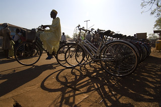 Bike rack | by World Bank Photo Collection